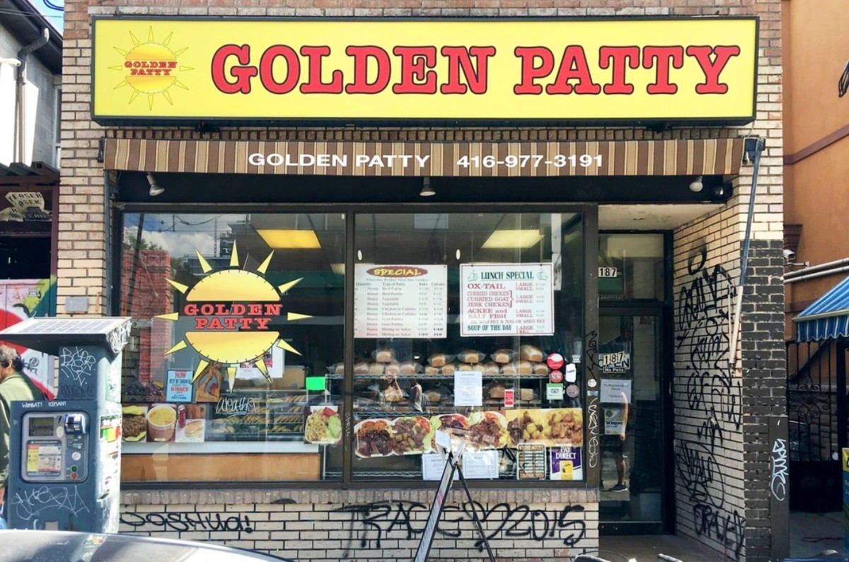 Golden Patty, 187 Baldwin St, Toronto