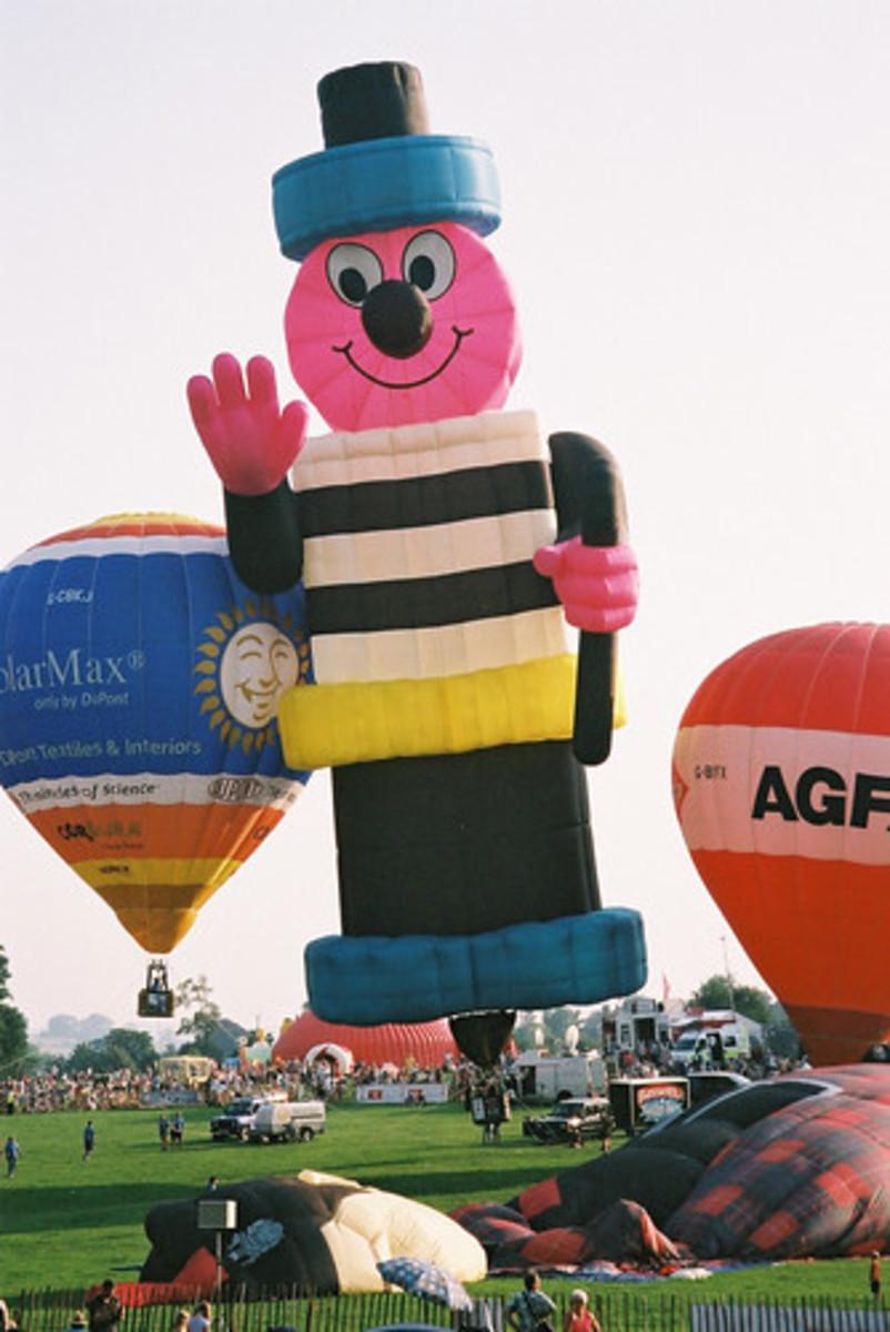 Bertie Bassett is the mascot for Liquorice Allsorts.