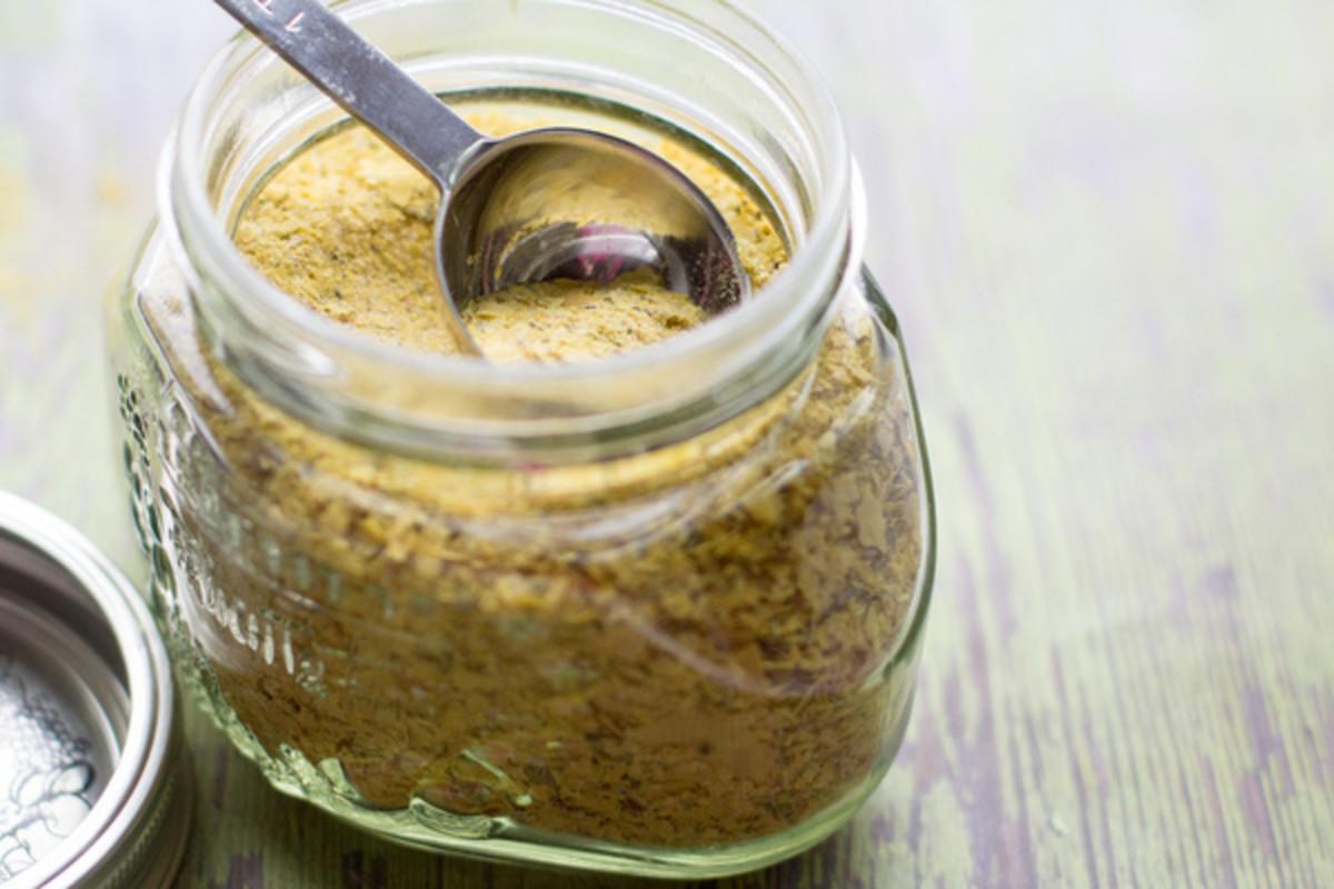 Vegetable bouillon powder