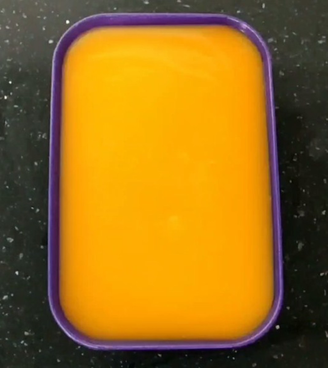 Transfer the mixture to a pudding mould. Allow to cool to room temperature.