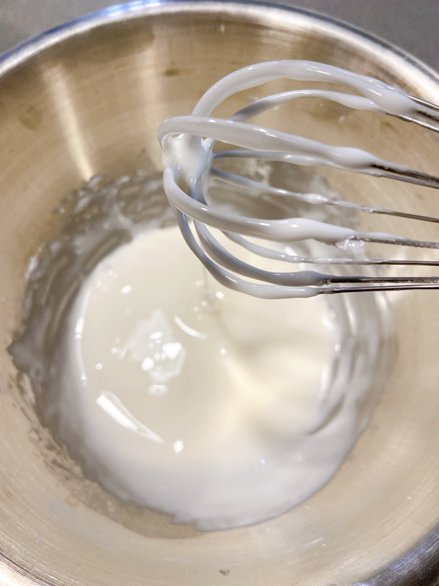Use a whisk to combine.