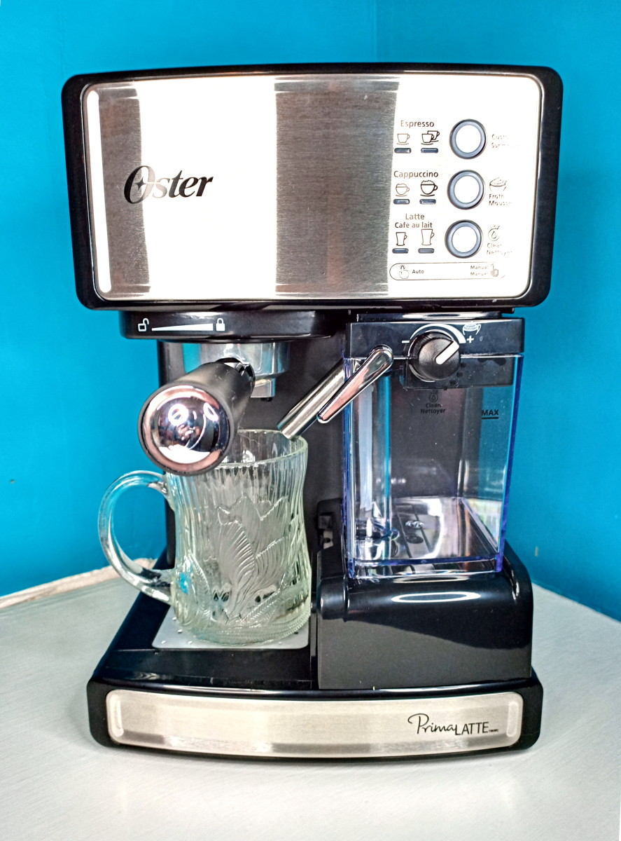 This is my machine. (You can find the same machine under the Mr. Coffee brand name.)