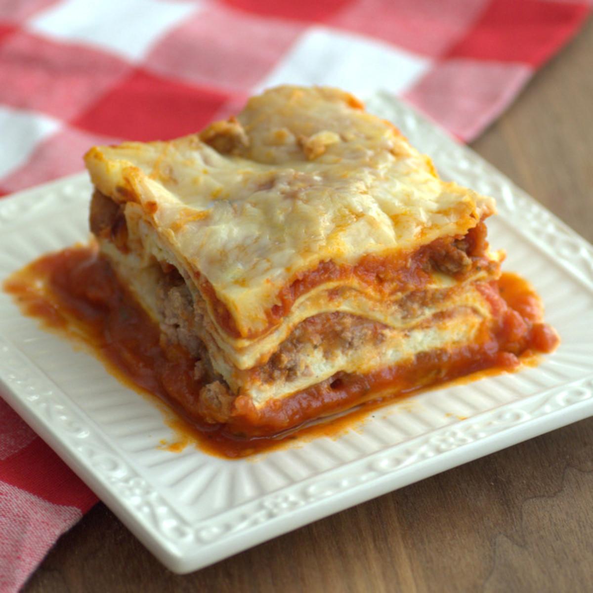 Classic Meat Lasagne