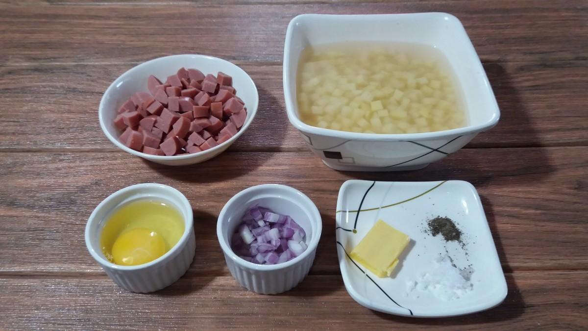 Hot dog hash ingredients