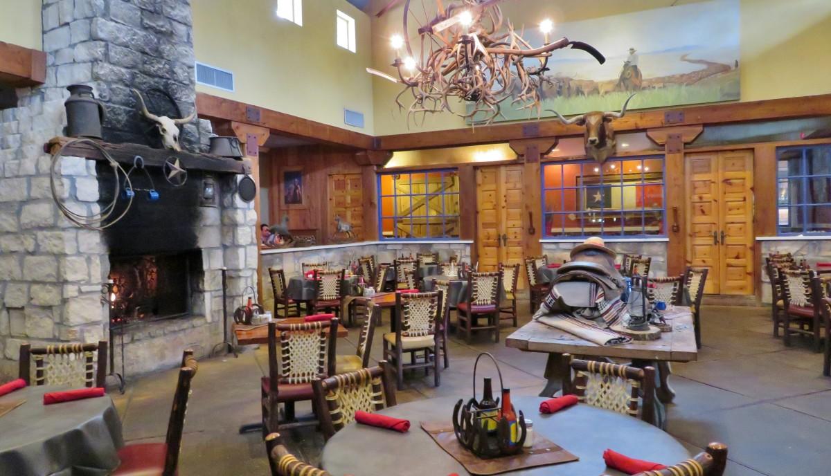 Restaurant main dining room