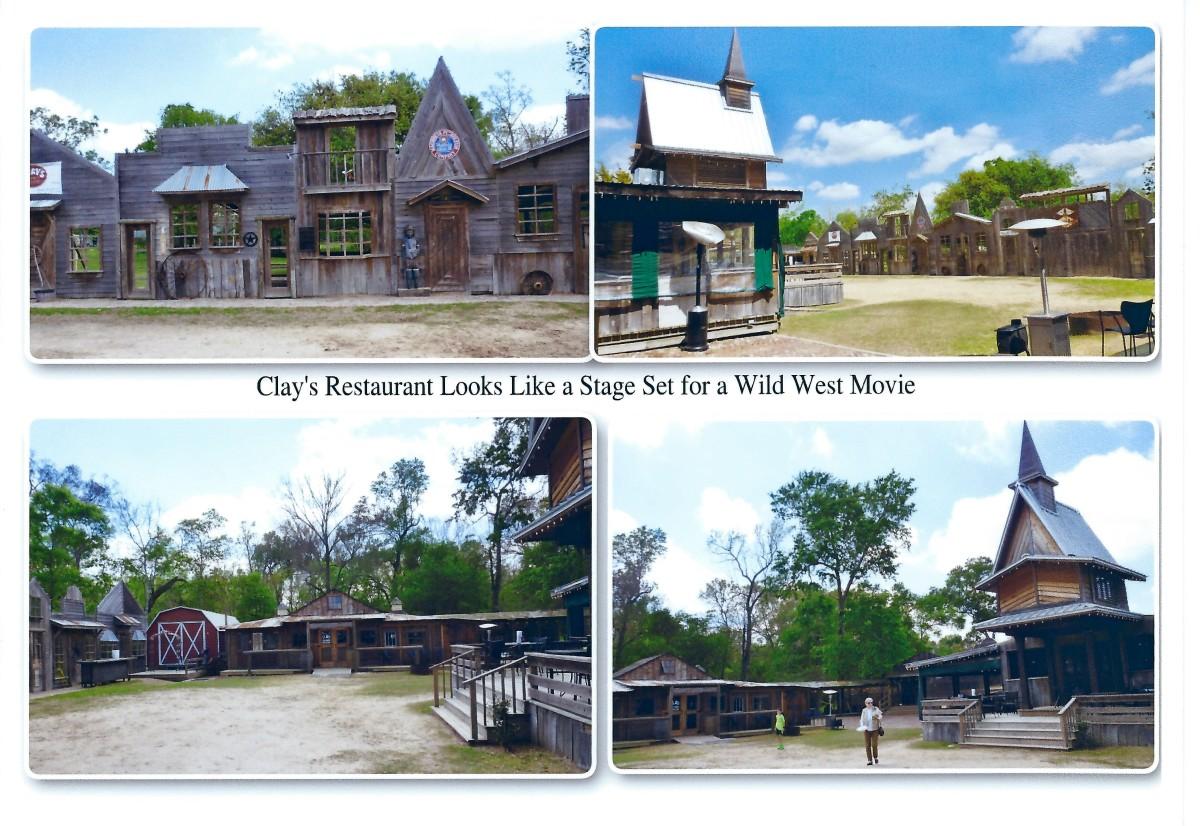 Clay's Restaurant photo collage