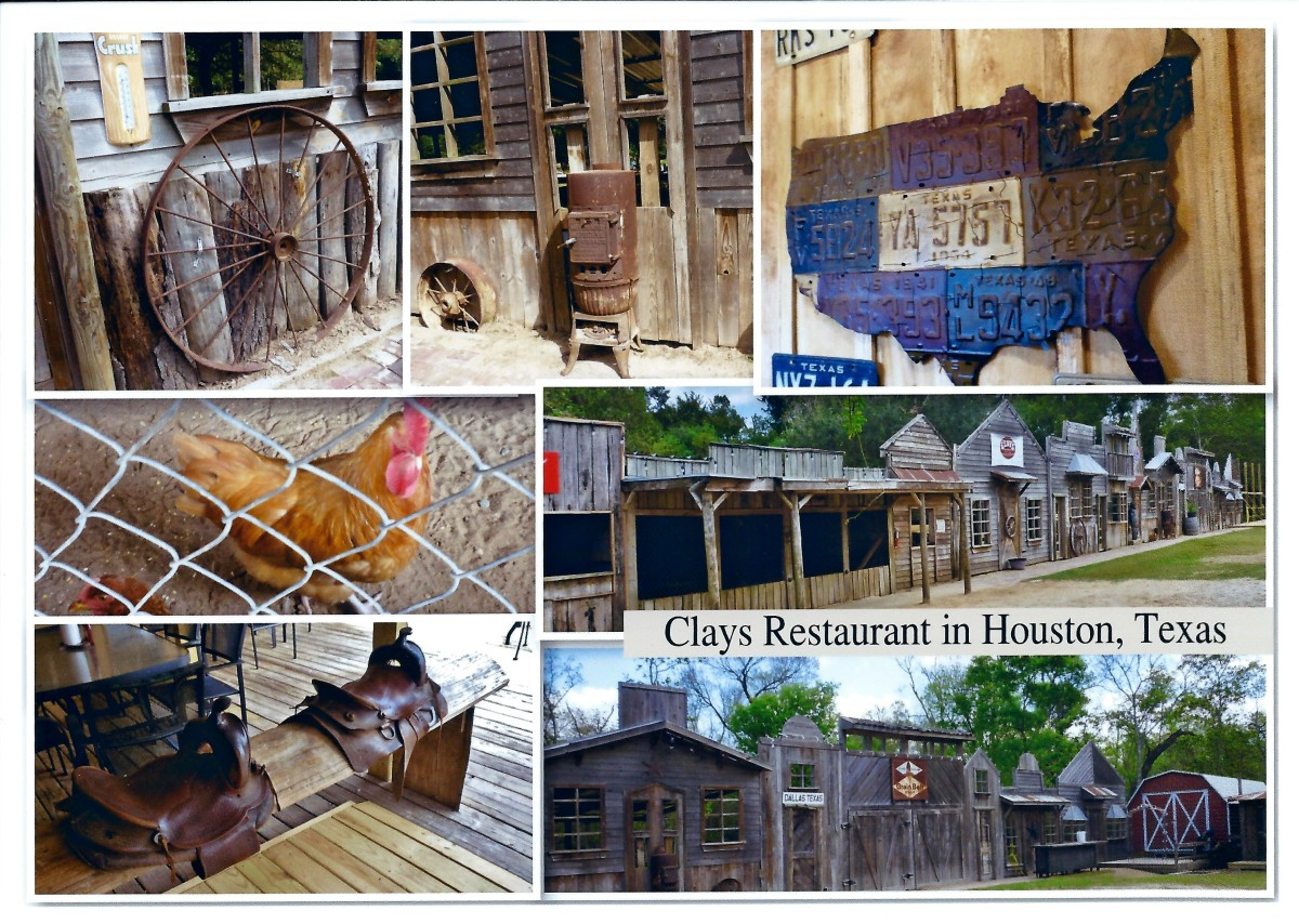 Clay's Restaurant Collage