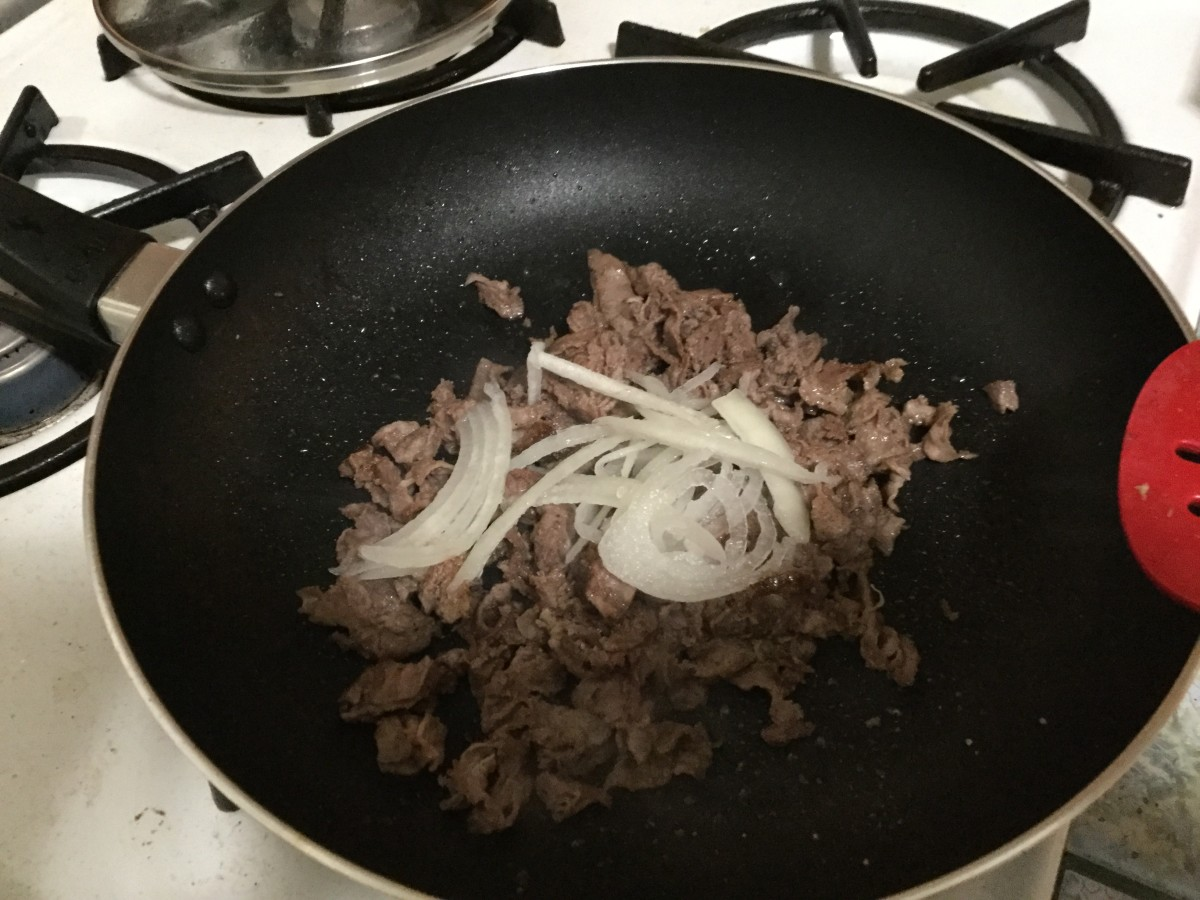 I added grilled onions