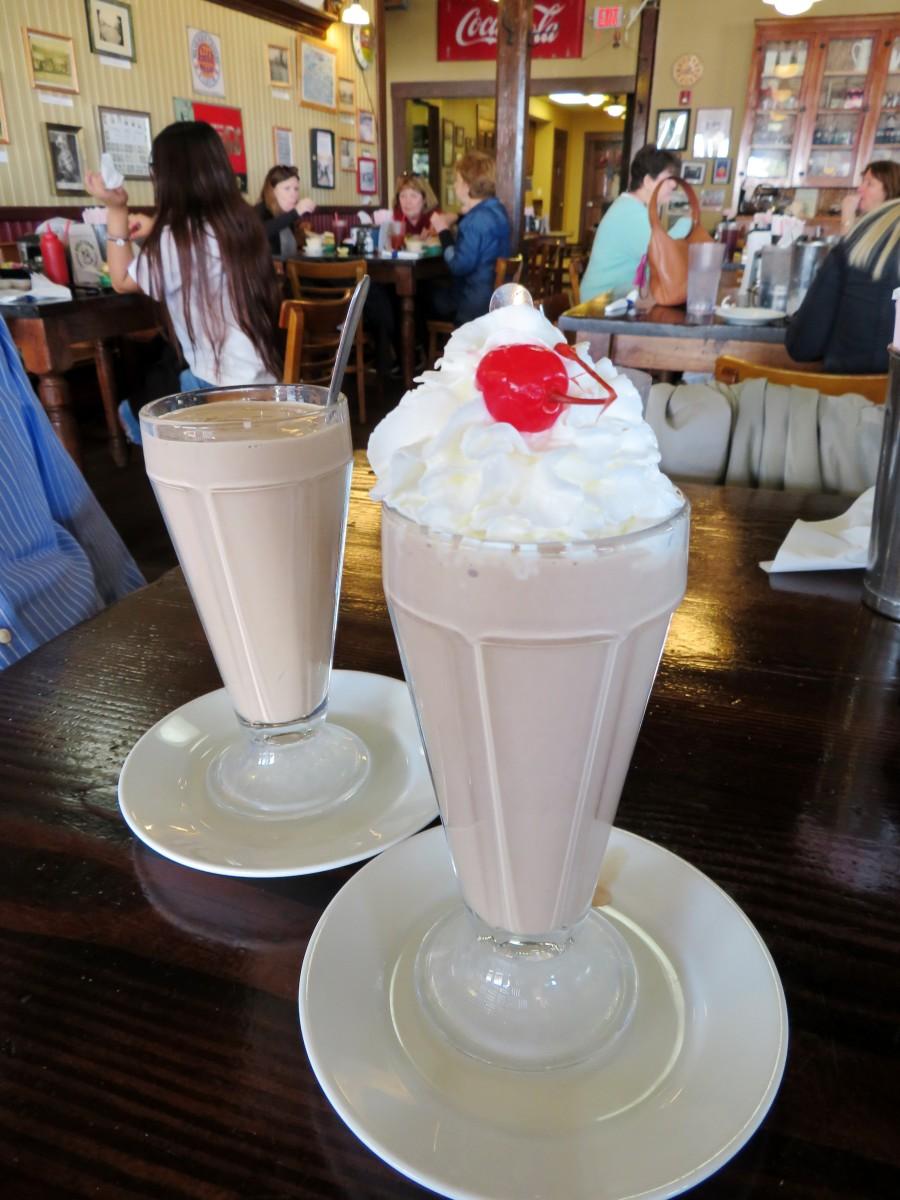 Malted milkshakes