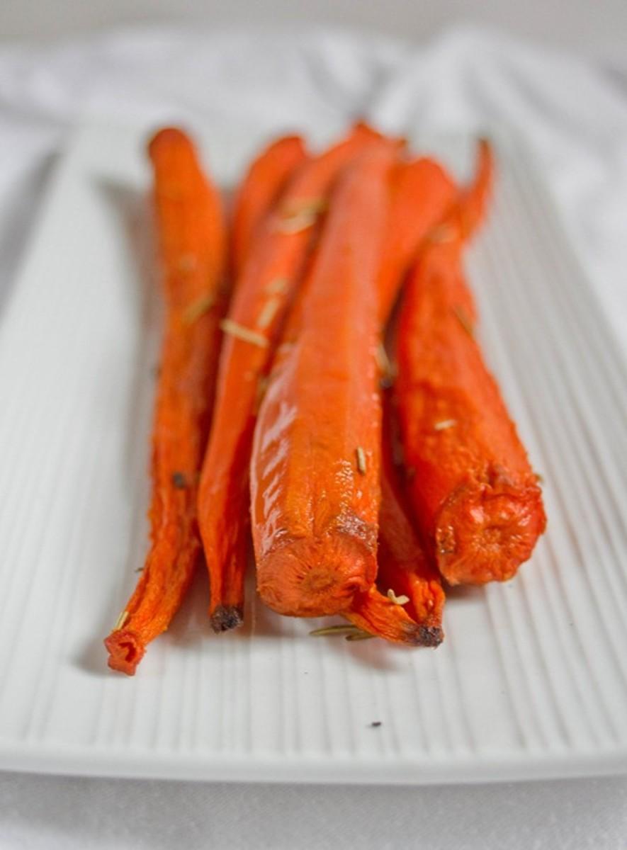 Vanilla Rosemary Carrots