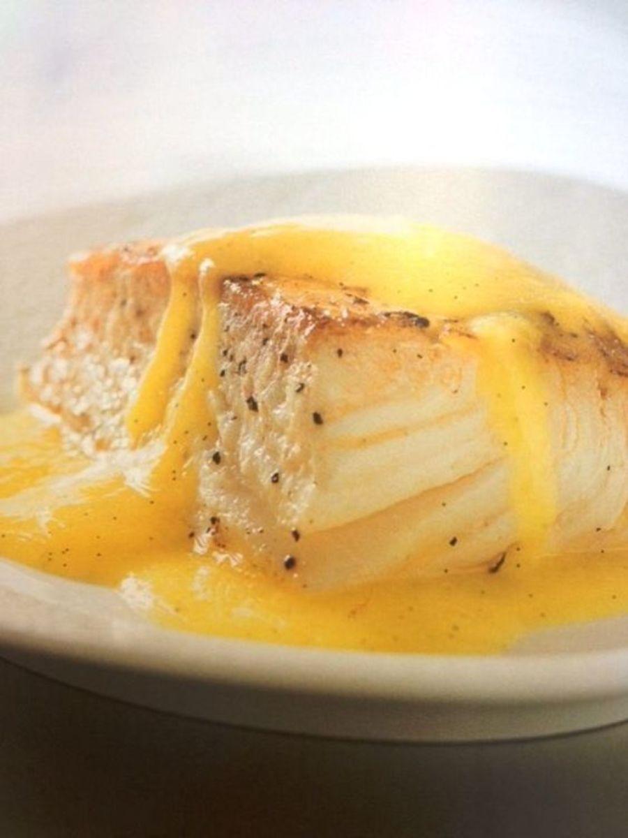 Mahi Mahi With Mango Vanilla Sauce