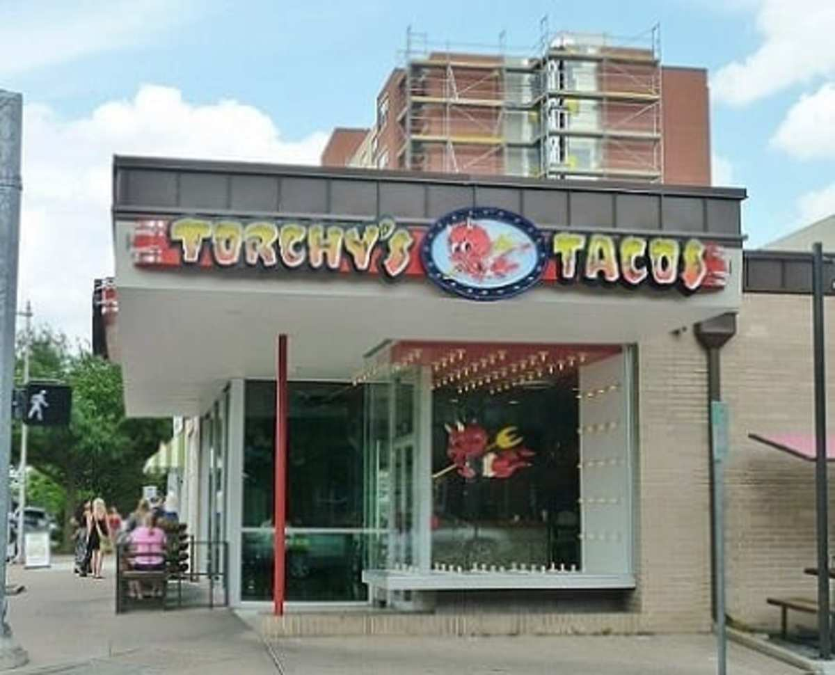 This is the Houston Heights location of Torchy's