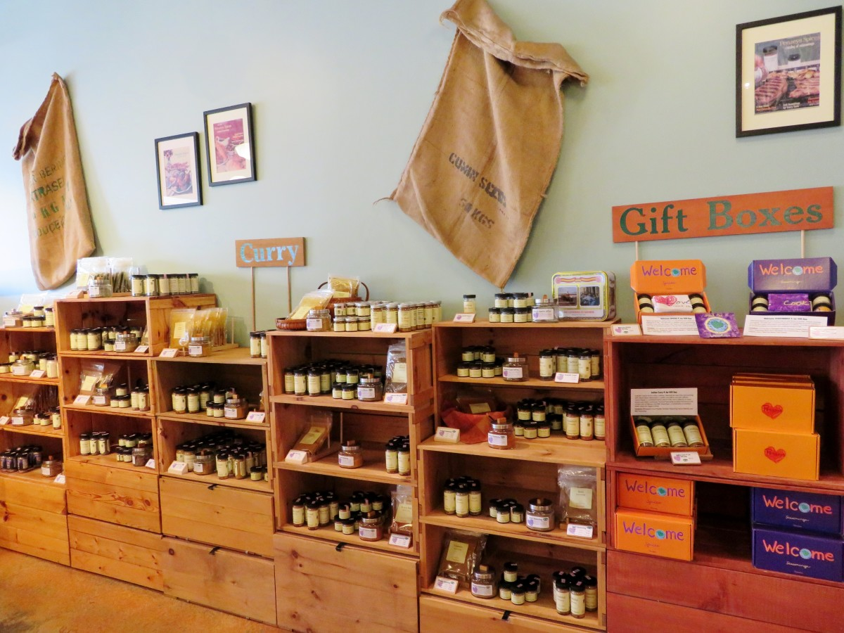 View inside of the store