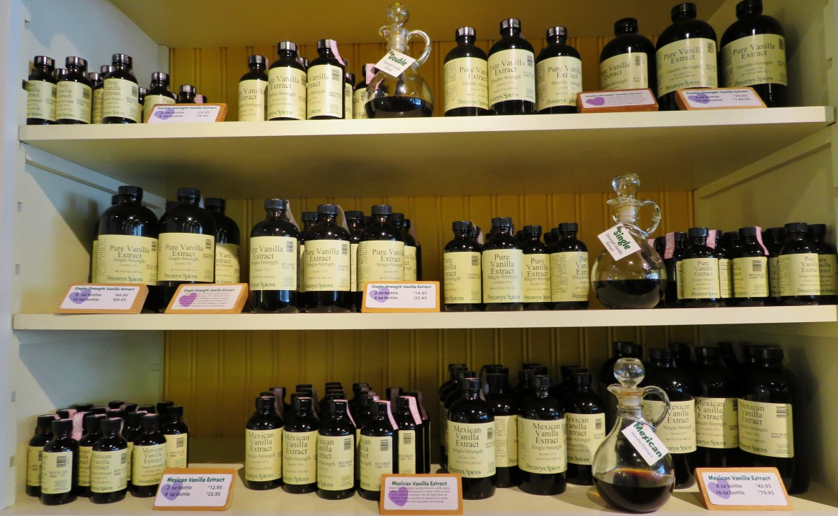 Different types of vanilla for sale