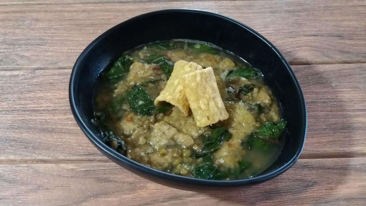 Ginisang monggo stew