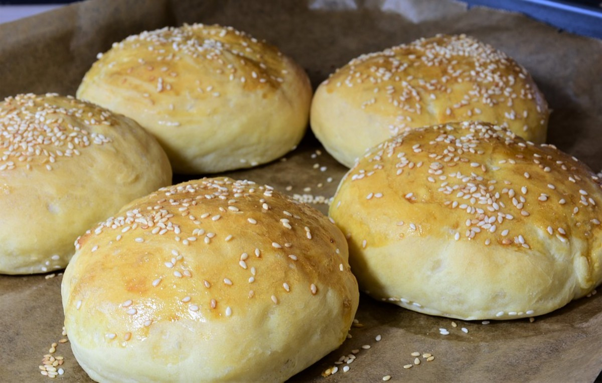 Perfect fluffy buns