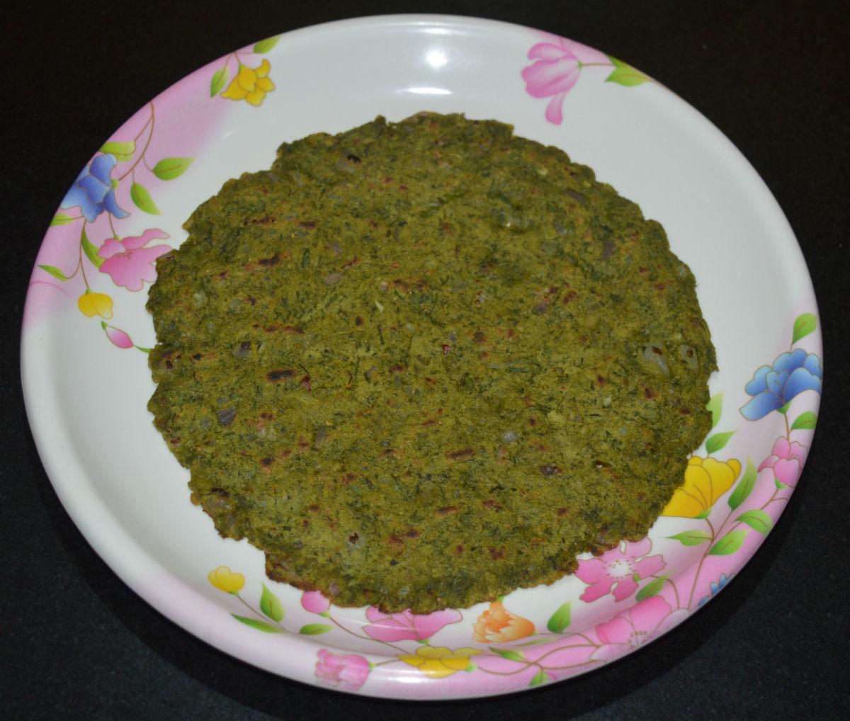 Green Jowar Roti