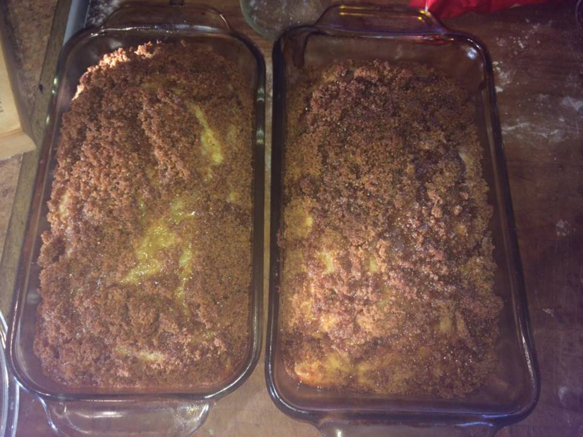 I even have difficulty getting my pumpkin crumble breads loose if I forget to grease the pans.