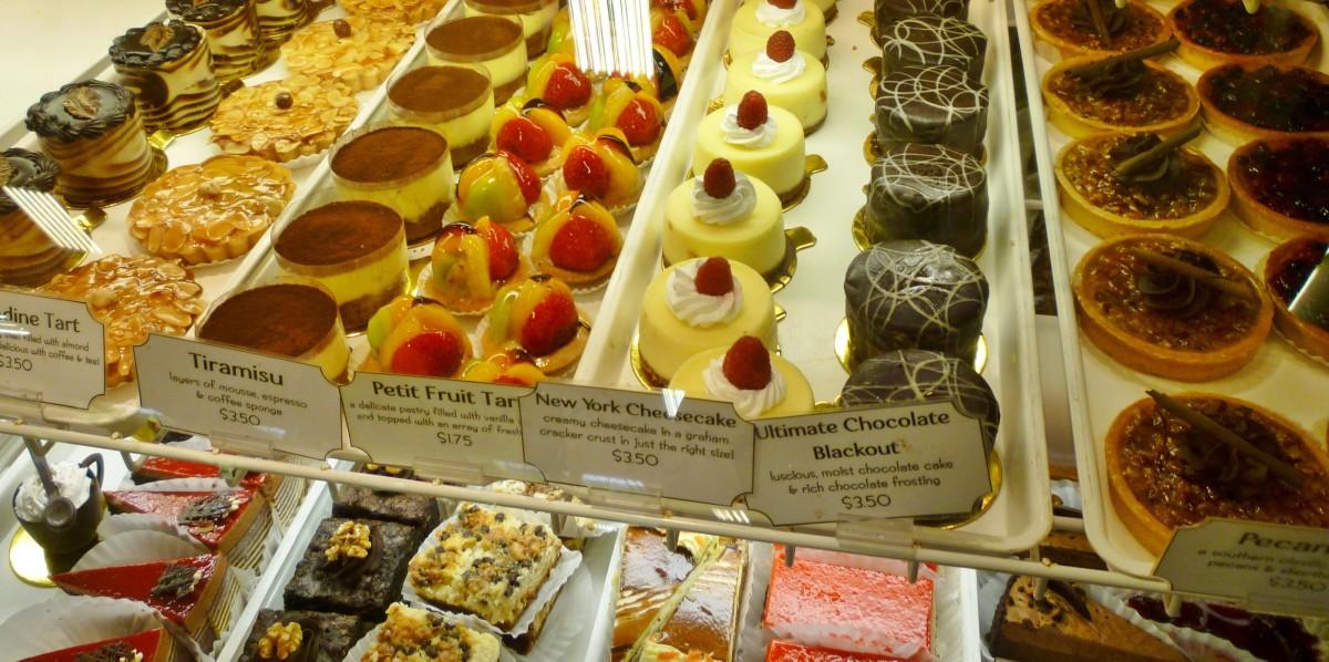 Fabulous dessert offerings from baklava to European pastries