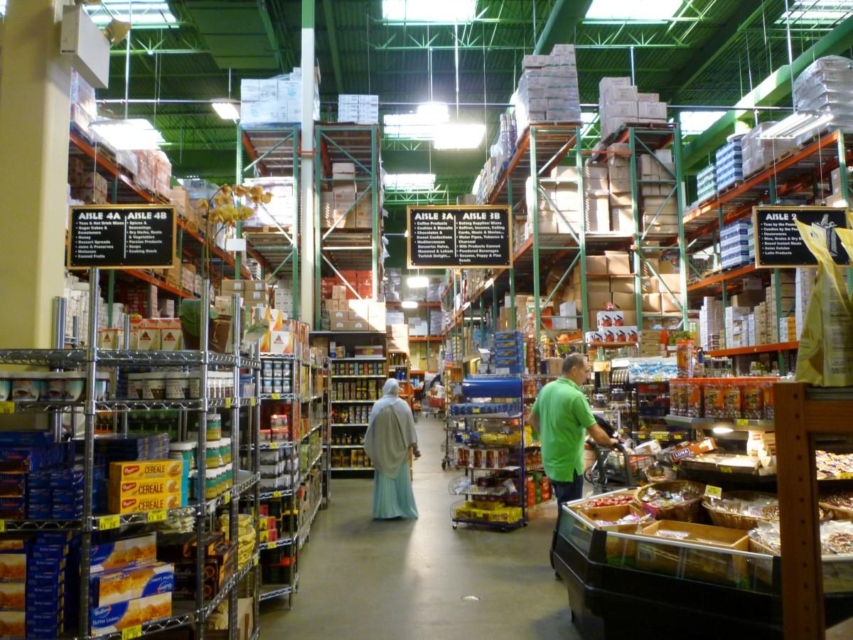Retail plus warehouse space