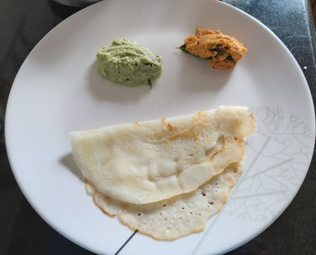 Serve hot and enjoy this easy and quick dosa with chutney or sambar of your choice.