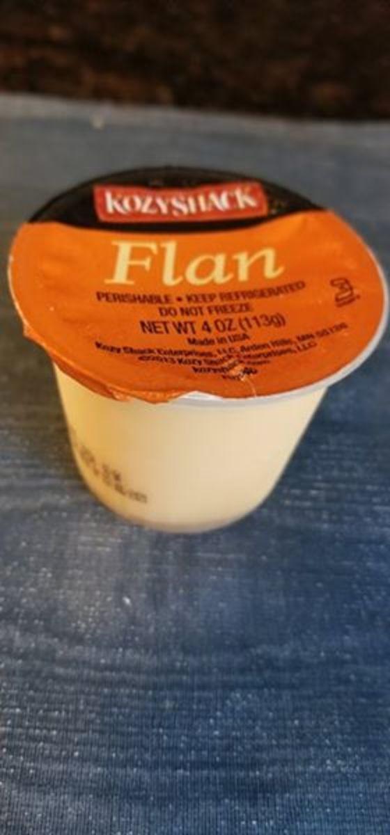Flan, or Spanish custard