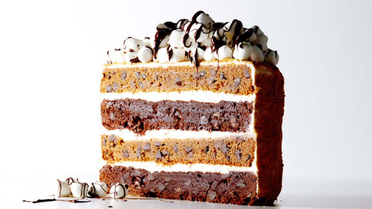 The Ultimate S'mores Layer Cake