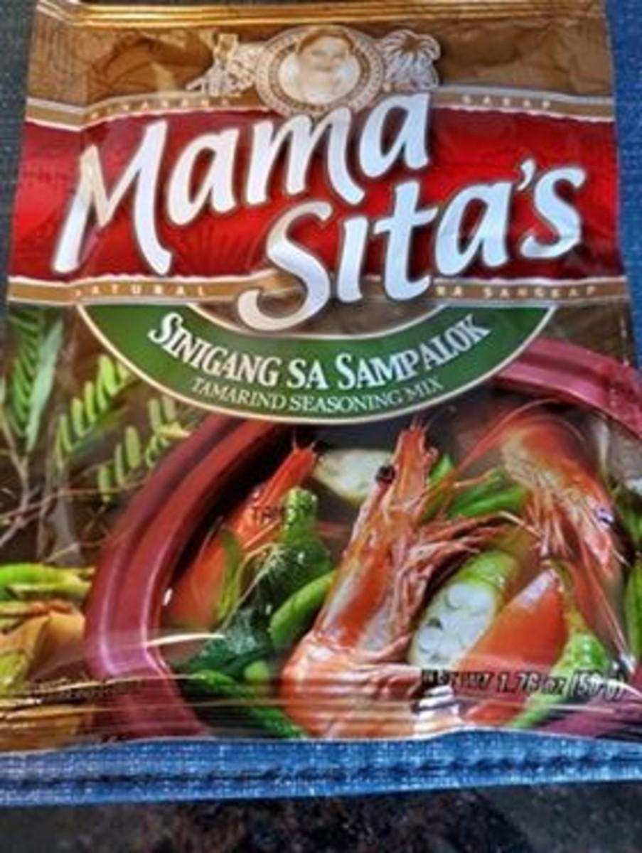 Step 5a: Add tamarind seasoning mix.
