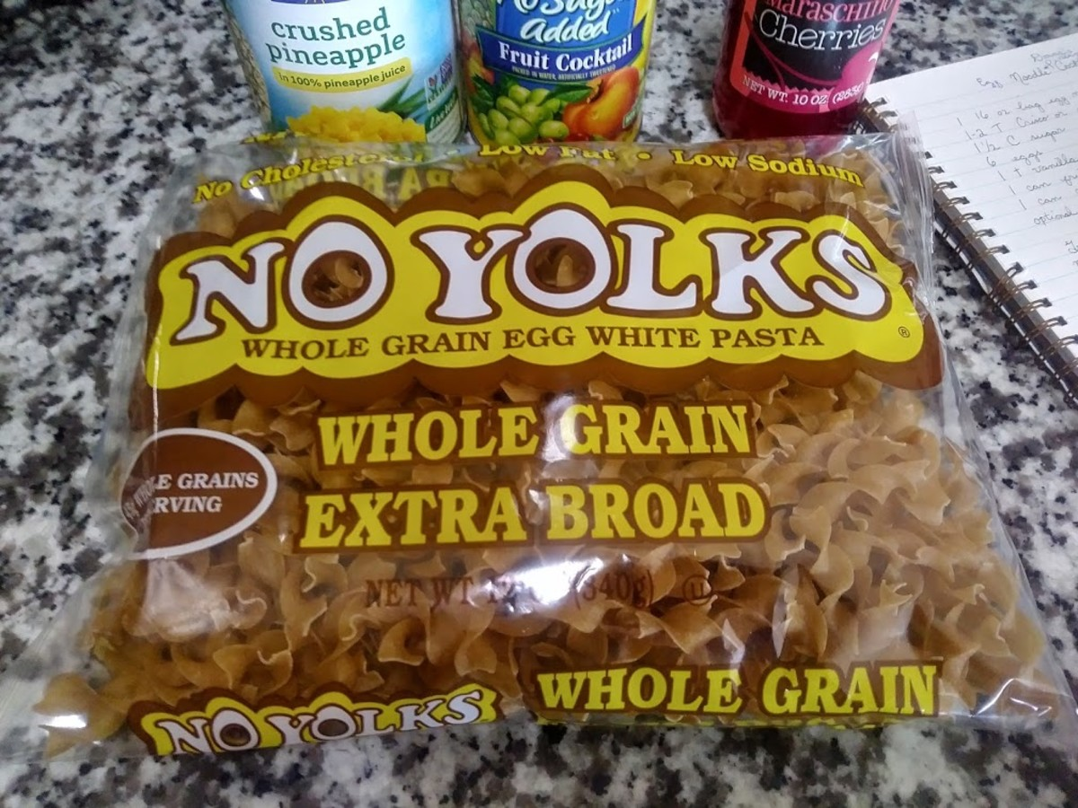 I prefer whole grain egg noodles but you can use any variety you like.