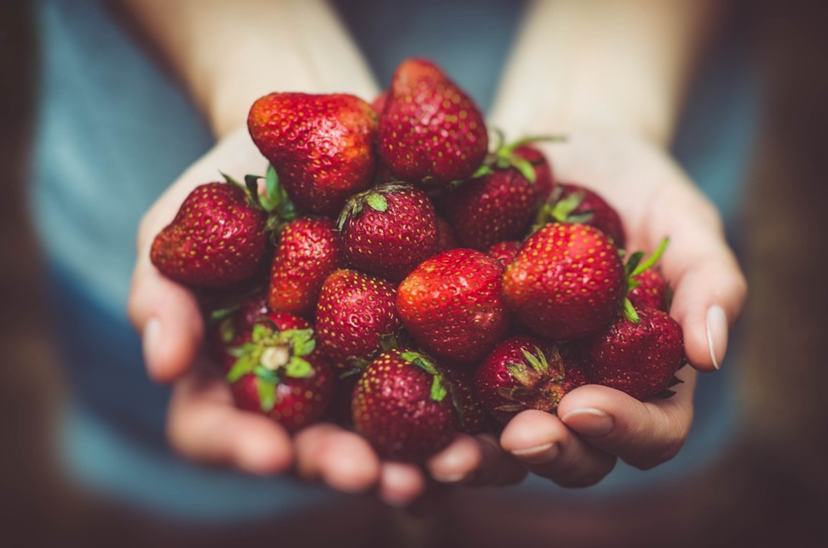 Like spinach, strawberries are packed with vitamins and antioxidants.