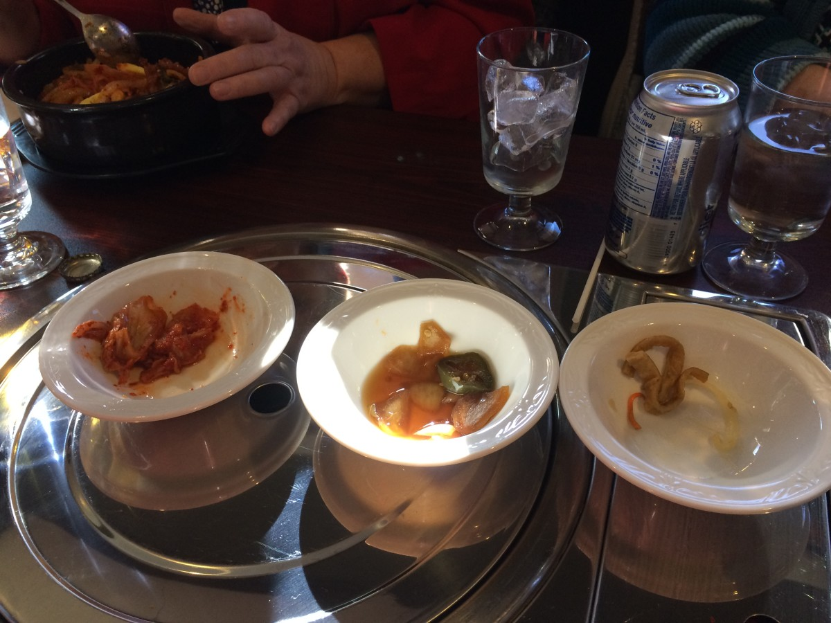 Kimchi and other pickled veggies