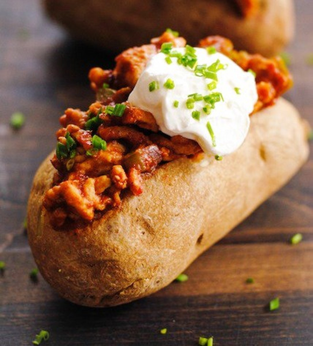 Sloppy Joe Stuffed Potatoes