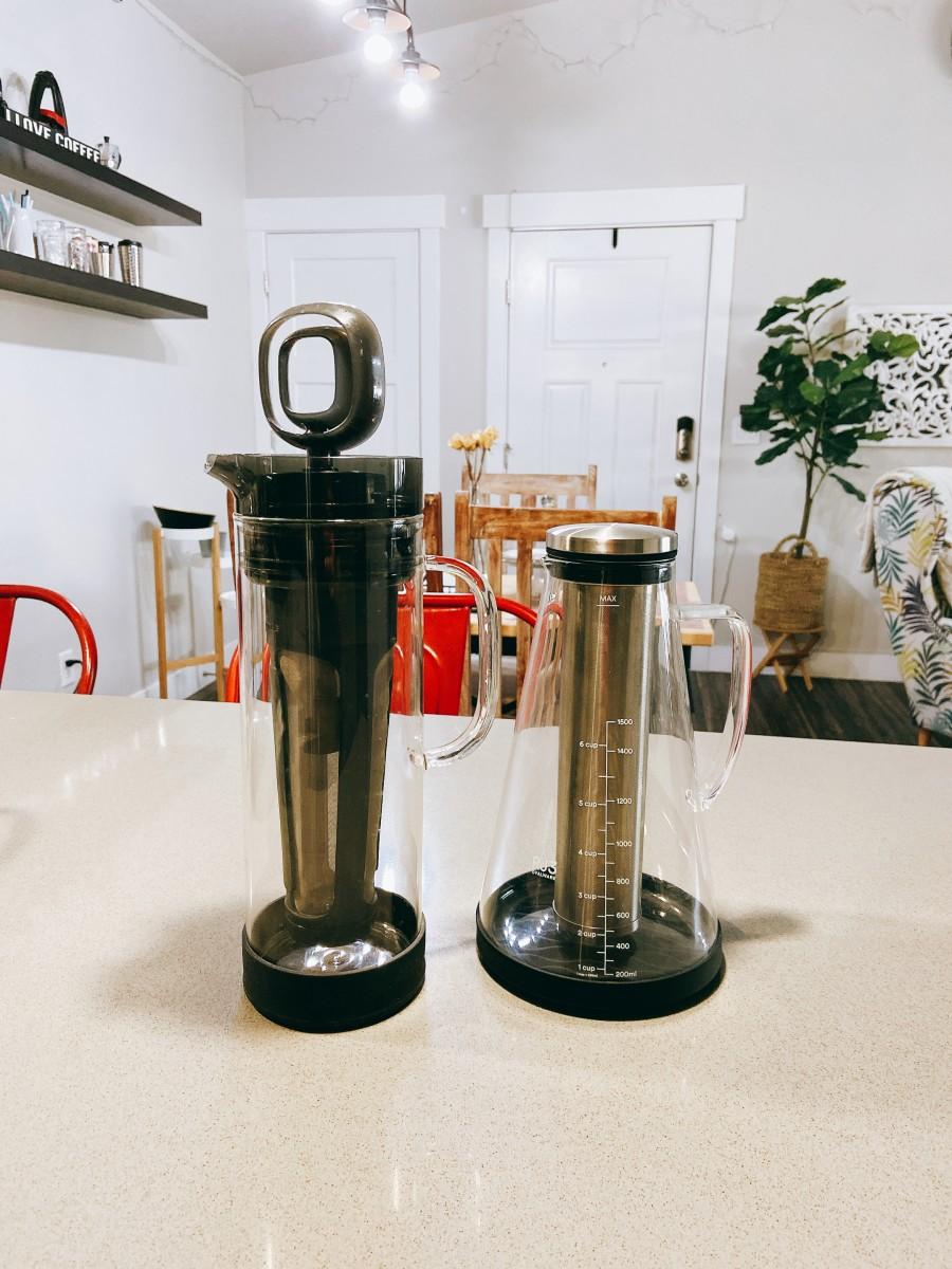 Choose your preferred cold brew coffee maker.