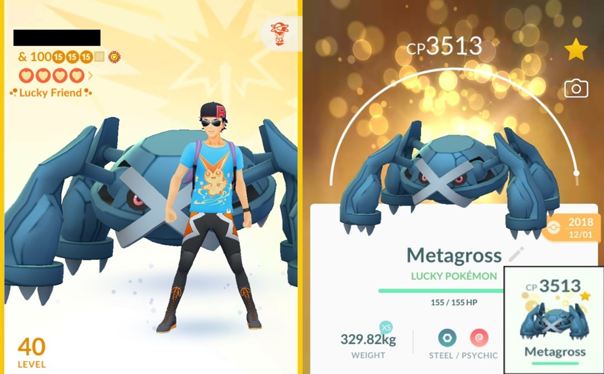 A Lucky Friend, and a Lucky Metagross