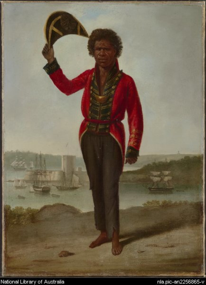 A Bungaree Australian Aboriginal Leader