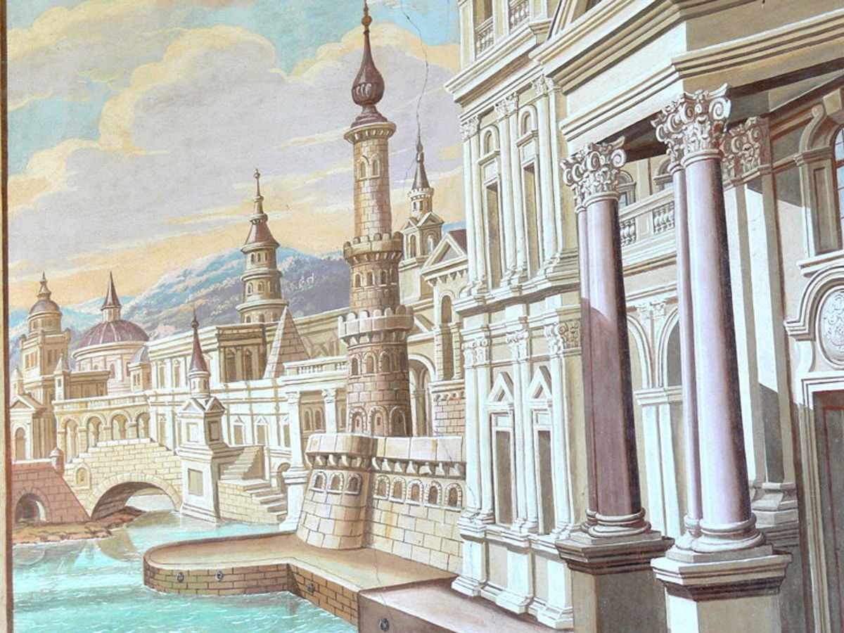Alexandria, as imagined by Wolfgang Sauber