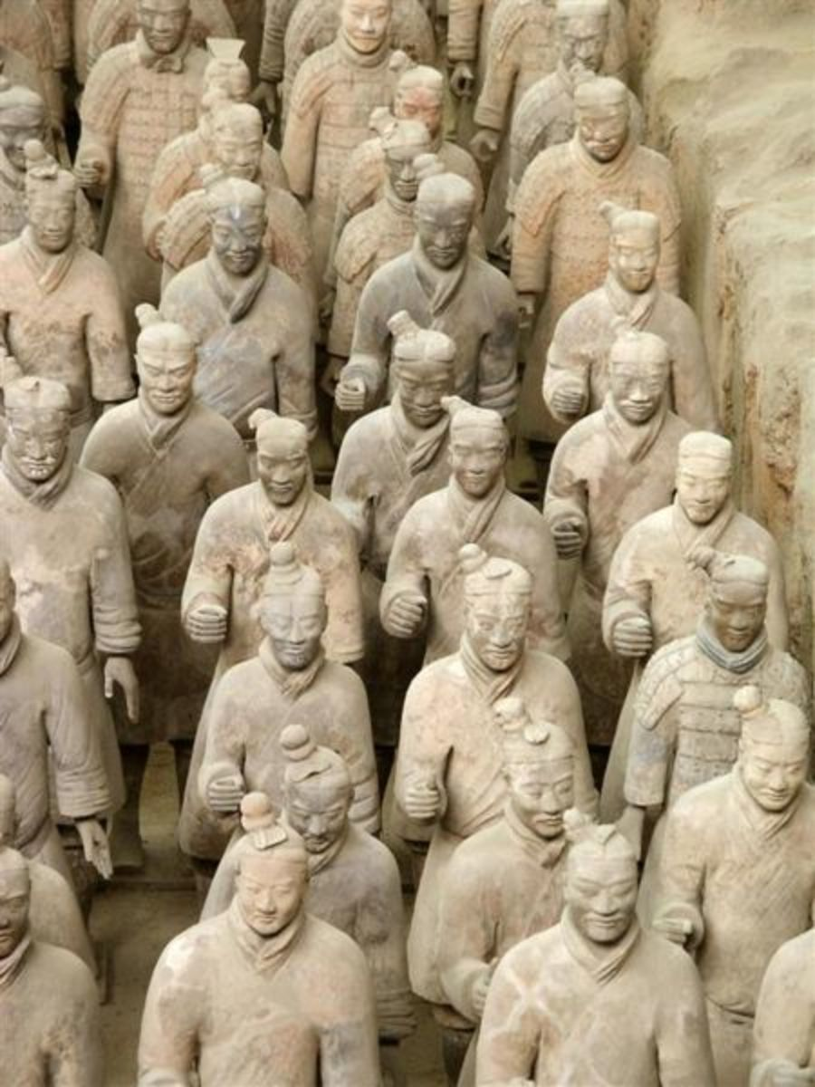 Terrakotta Army of Ancient China