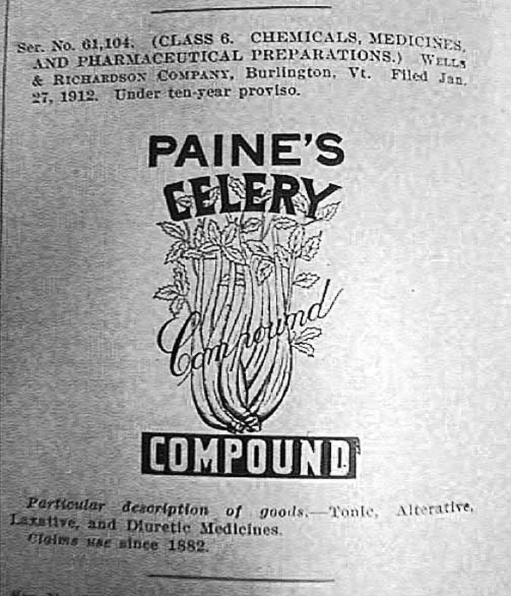 A very popular remedy of the 1800's.