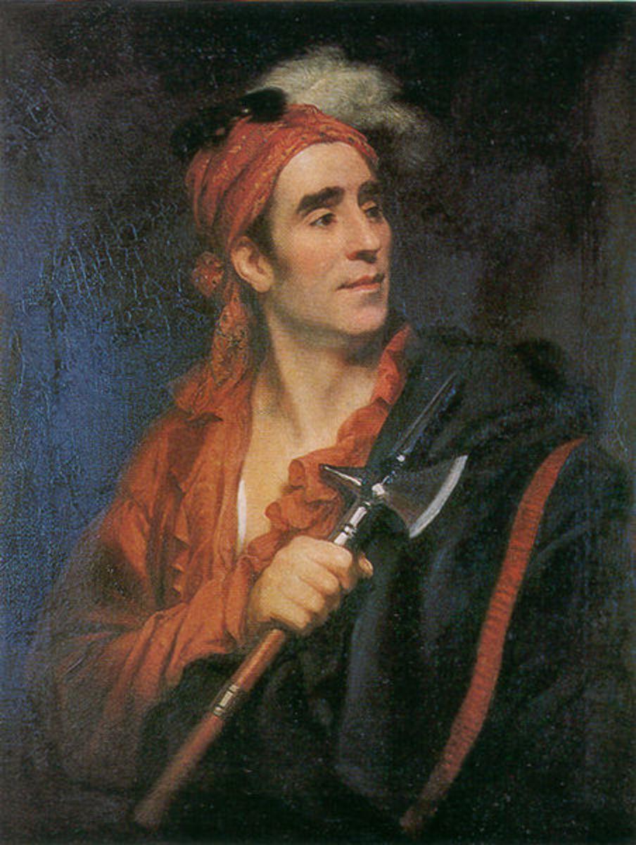 John Norton was Teyoninhokovrawen, b. 1809; a Mohawk Nation man.