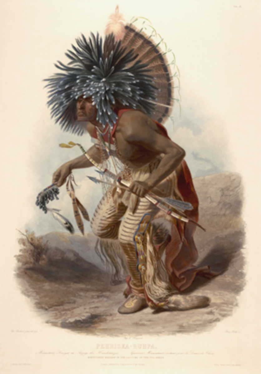 Native American Nations And 360 Degree Migration Around