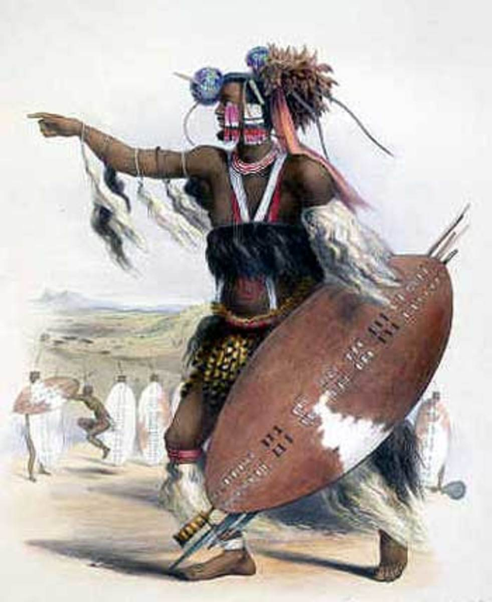 Zulu Chief: Utimuni, nephew of Shaka Zulu