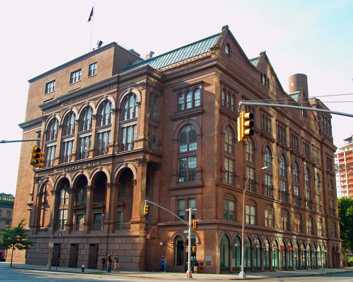 Cooper Union in New York city