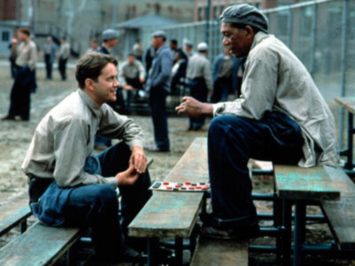 Scene from The Shawshank Redemption