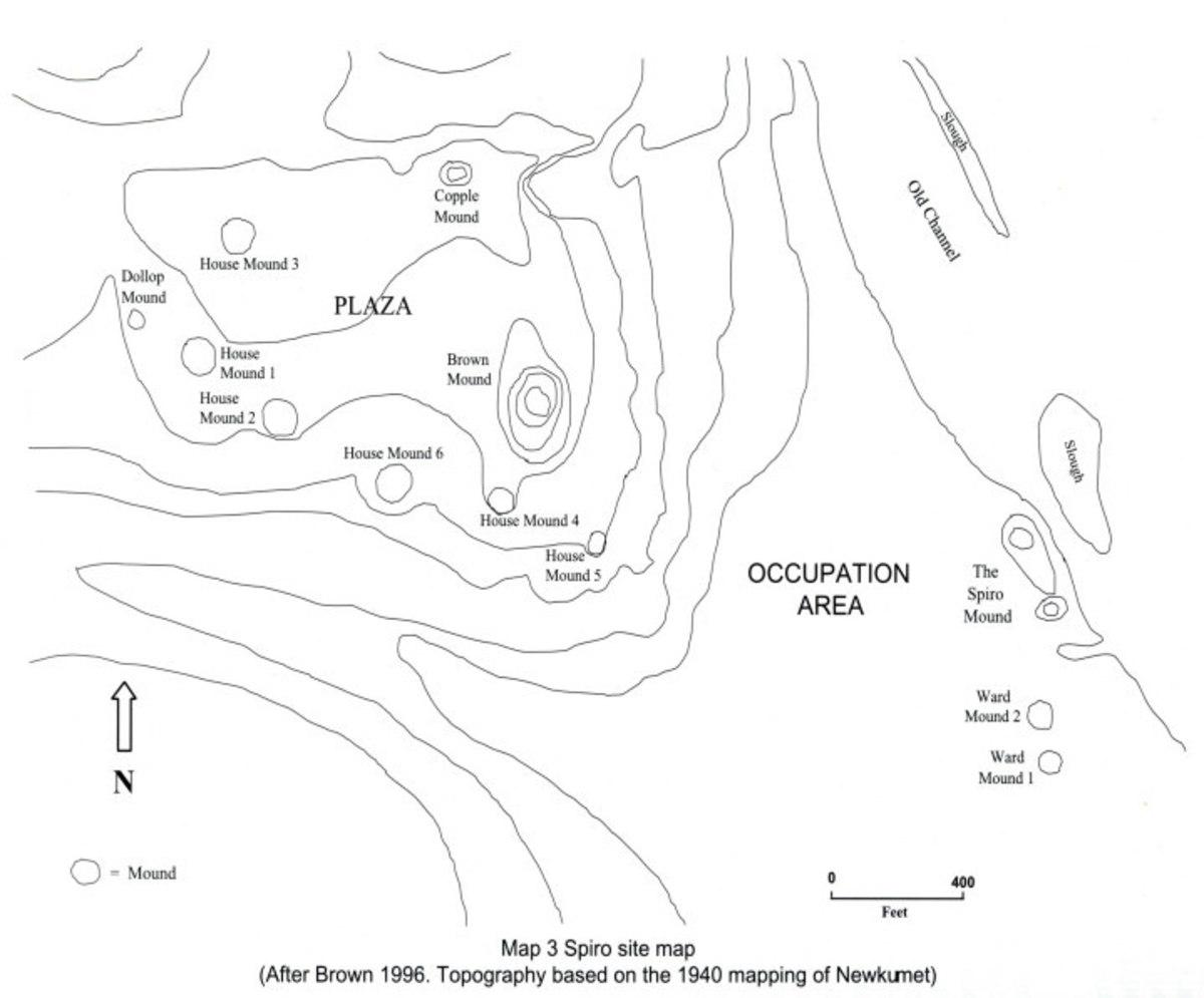 The Spiro Mounds Site