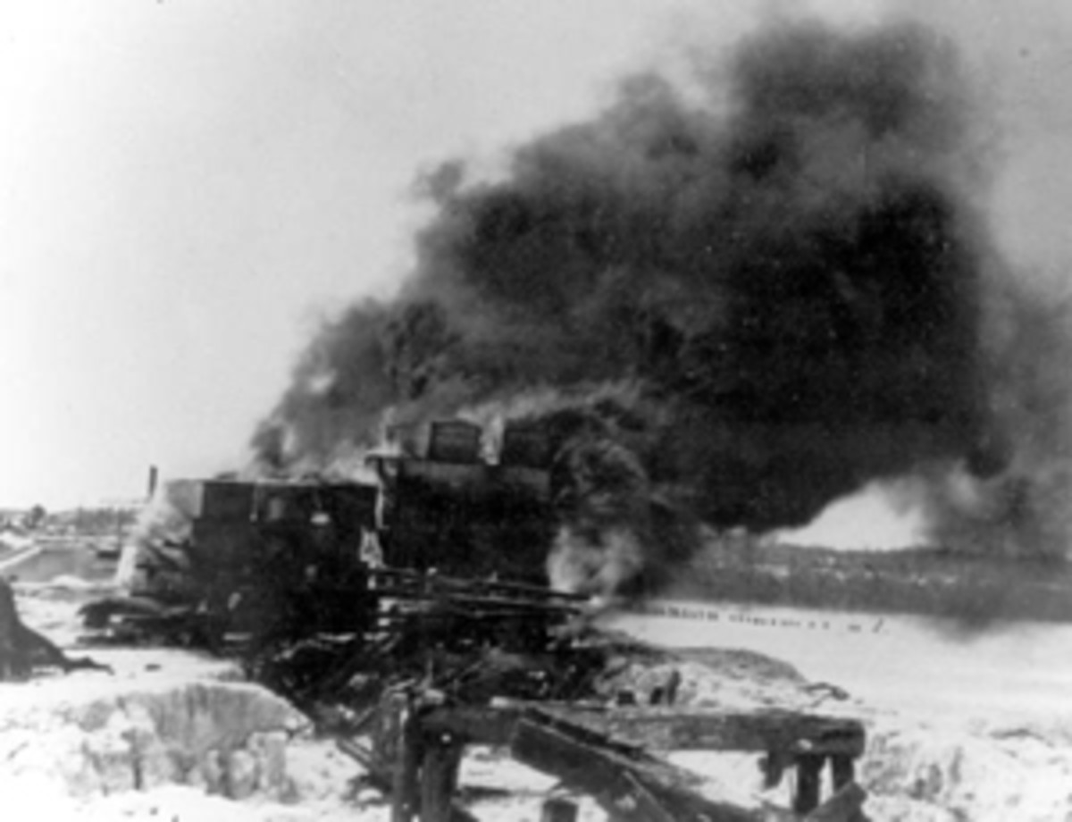 Mortal remains of victims of the 1935 hurricane being cremated: Snake Creek, Florida