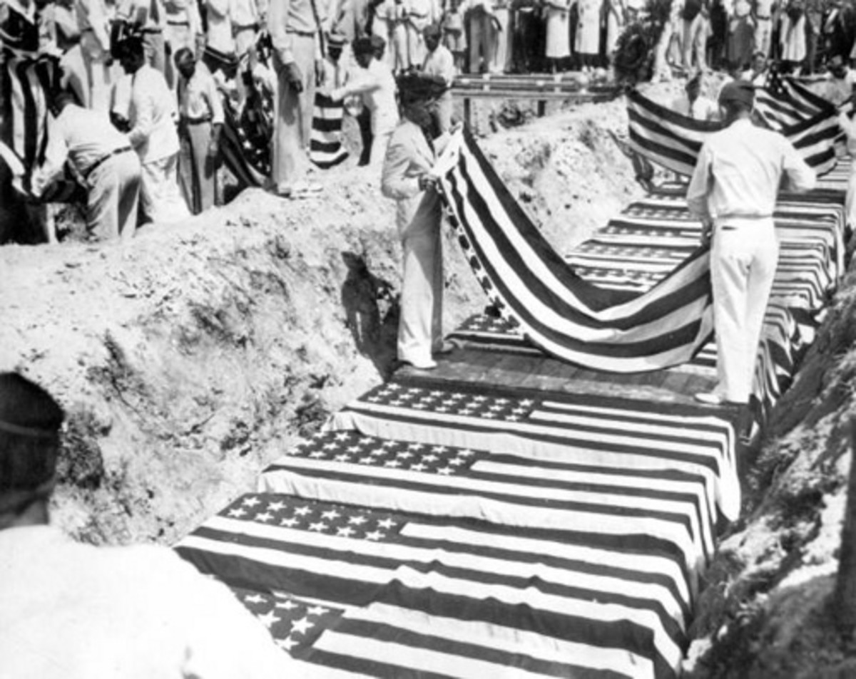 Veterans buried with full military honors Sept. 8, 1935