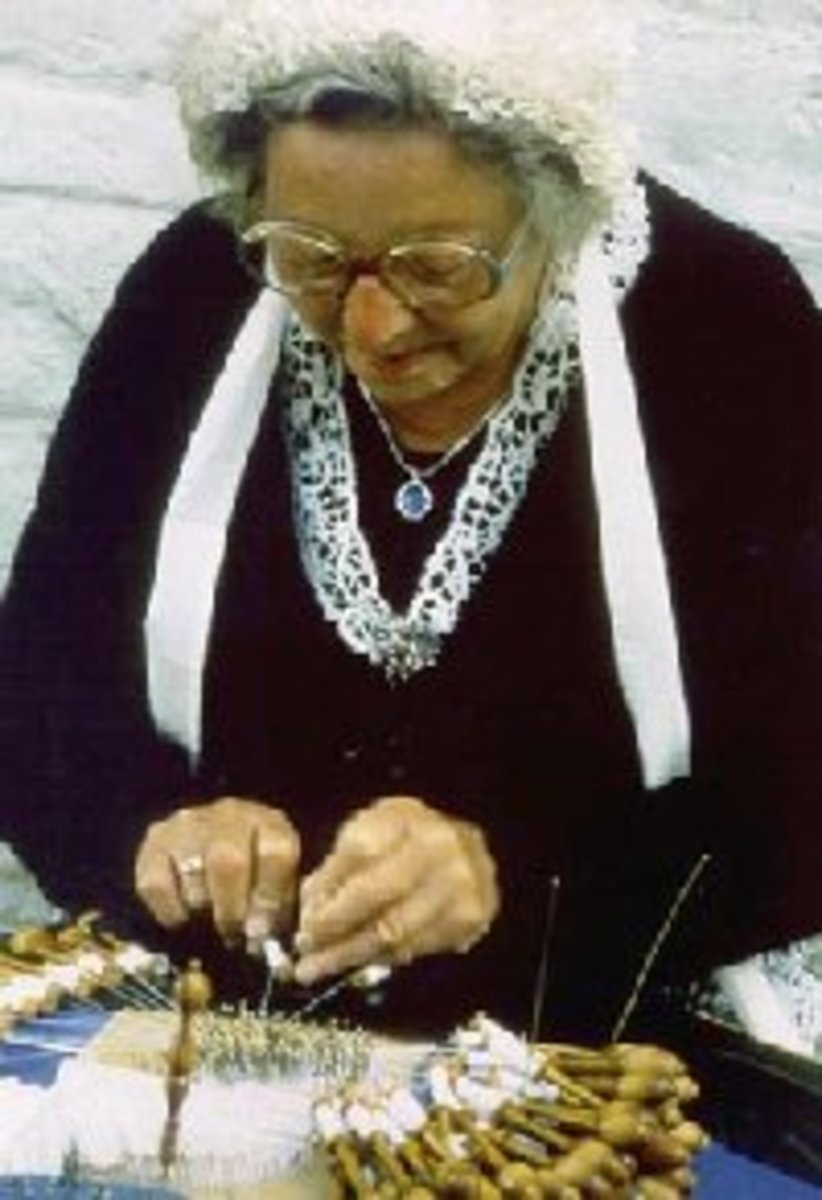 history-of-lace-making