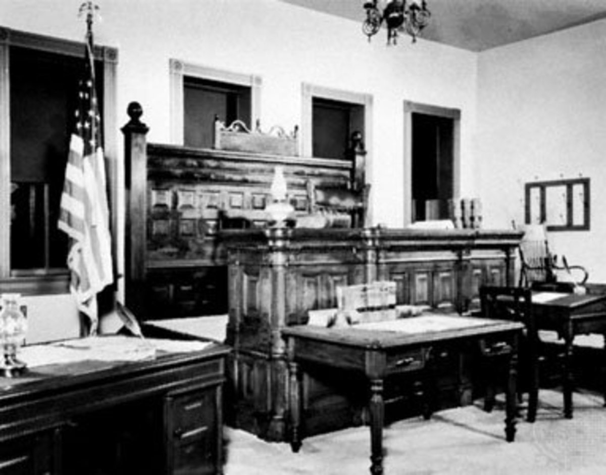Judge Isaac Parker's Courtroom