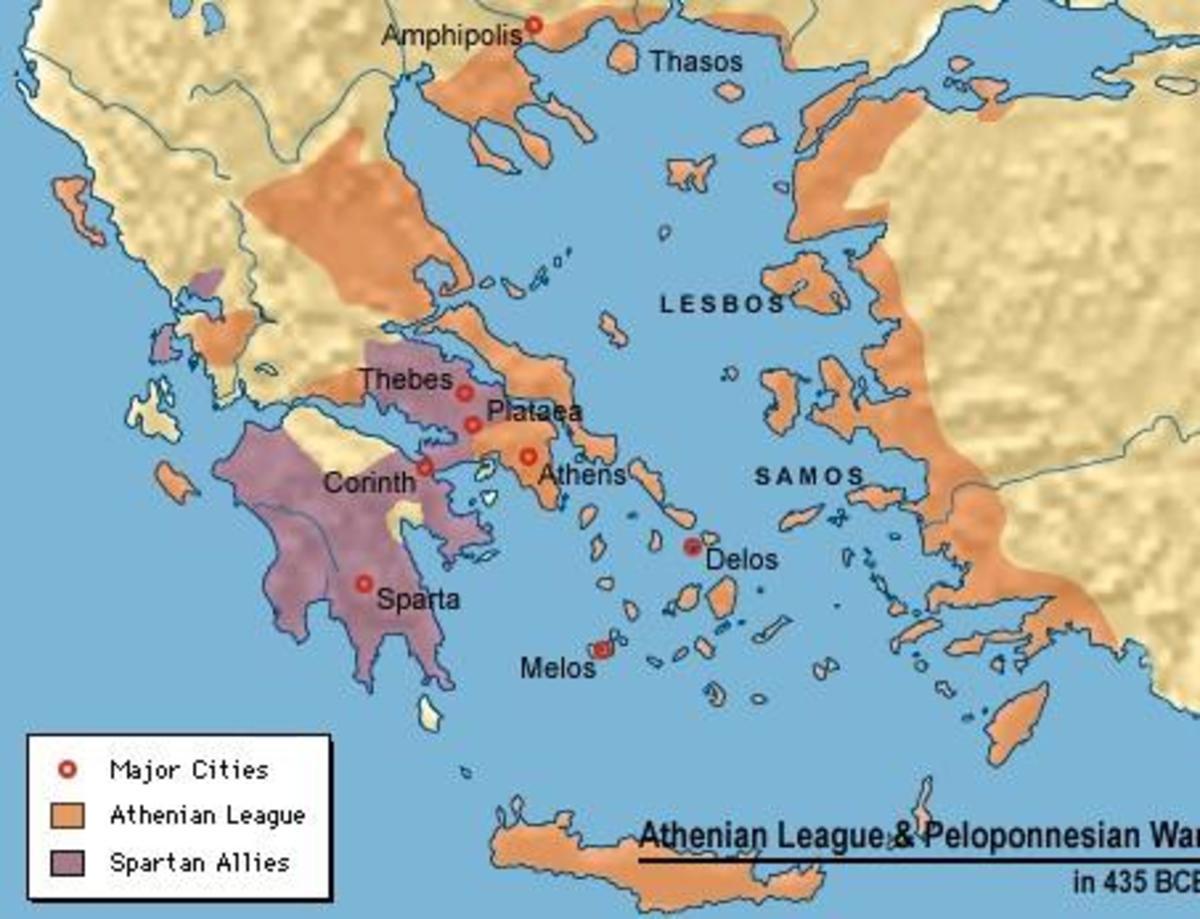 The Delian Leauge(Orange)