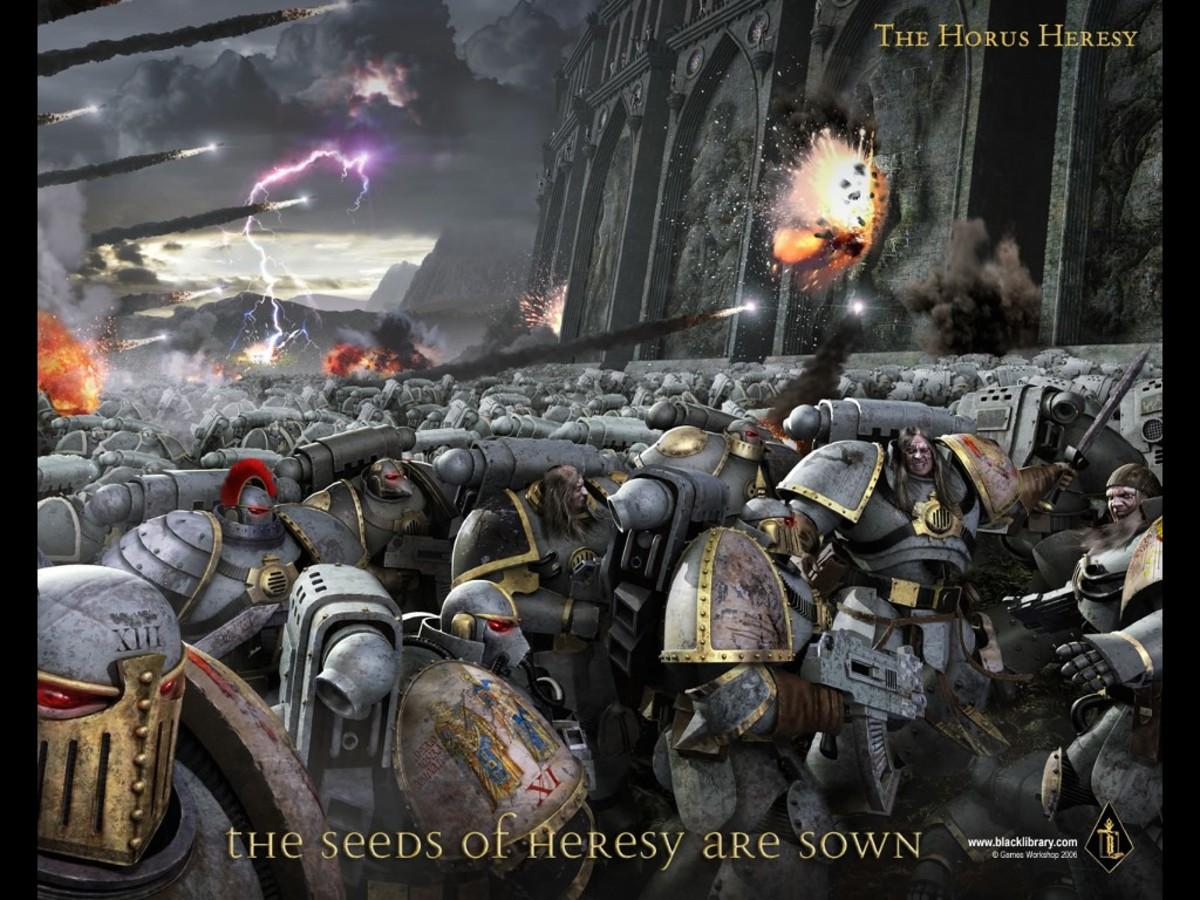 The Horus Heresy, courtesy The Black Library